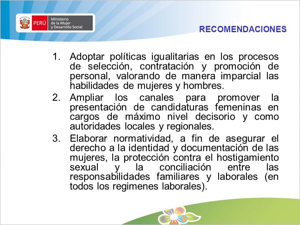 DGM - MIMDES / Julio 200921 1.Marco Normativo Internacional 2.Marco Jurídico Nacional General 3.Marco Normativo Específico de Igualdad de Oportunidade