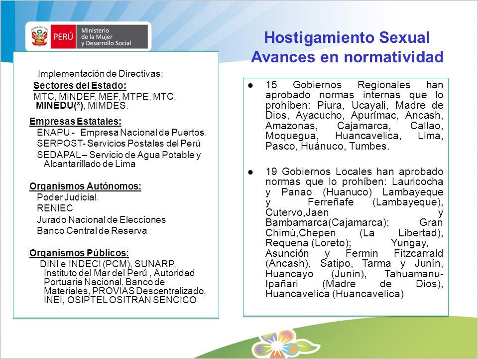 DGM - MIMDES / Julio 20095 1.Marco Normativo Internacional 2.Marco Jurídico Nacional General 3.Marco Normativo Específico de Igualdad de Oportunidades