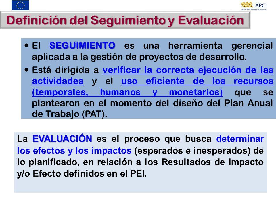 Definición del Seguimiento y EvaluaciónDefinición del Seguimiento y Evaluación SEGUIMIENTO El SEGUIMIENTO es una herramienta gerencial aplicada a la g