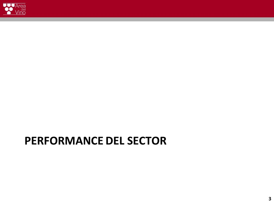 PERFORMANCE DEL SECTOR 3