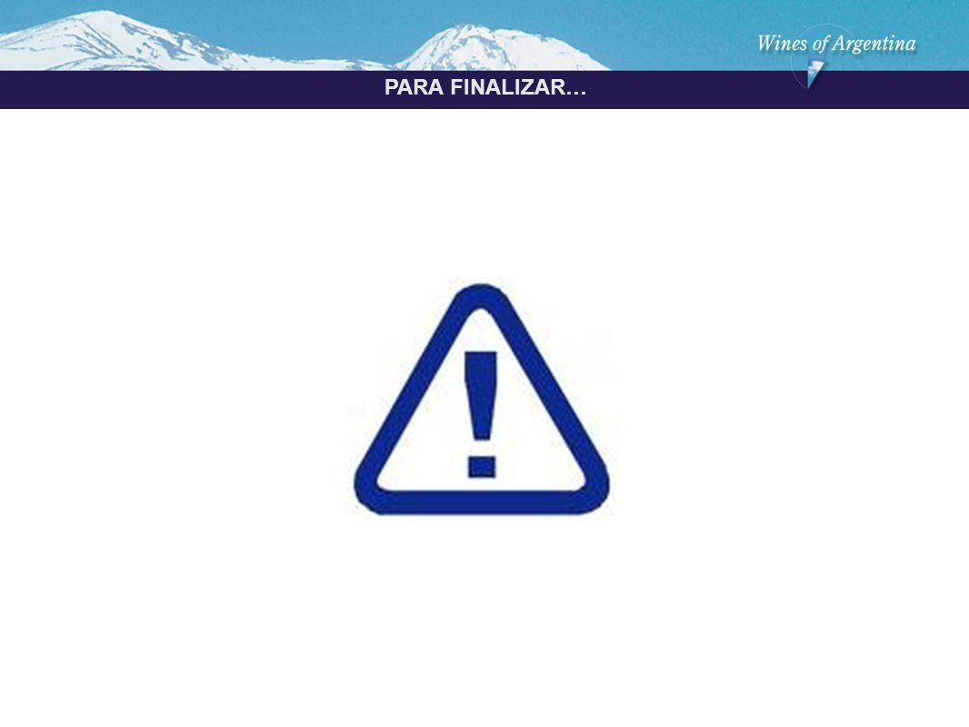 Argentina PARA FINALIZAR…