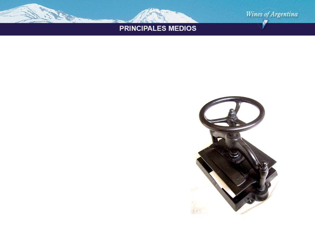 Argentina PRINCIPALES MEDIOS