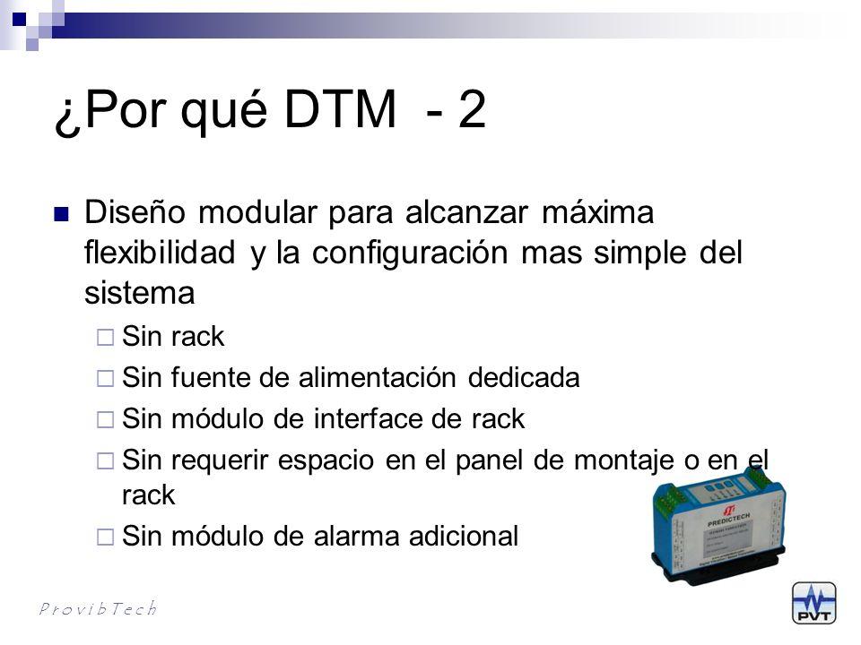¿Por qué DTM - 3.