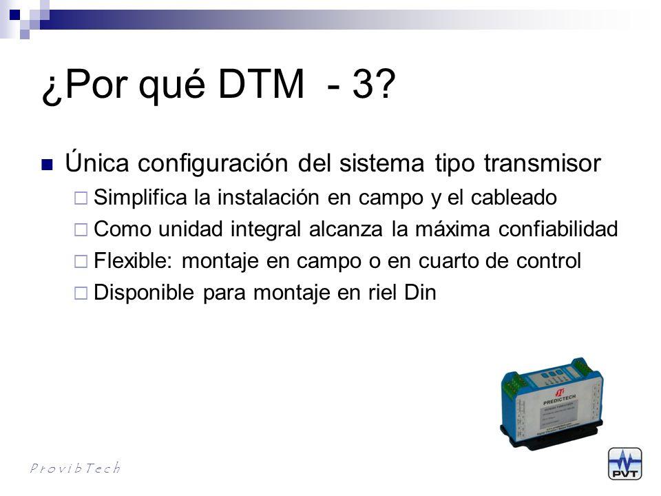 ¿Por qué DTM - 4.