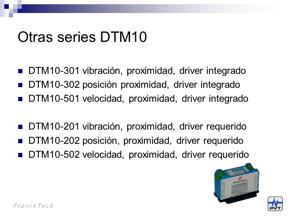 DTM10 driver requerido