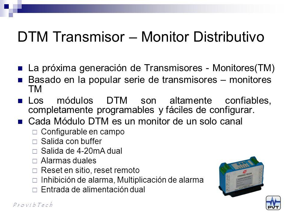 DTM Transmisor – Monitor Distributivo La próxima generación de Transmisores - Monitores(TM) Basado en la popular serie de transmisores – monitores TM