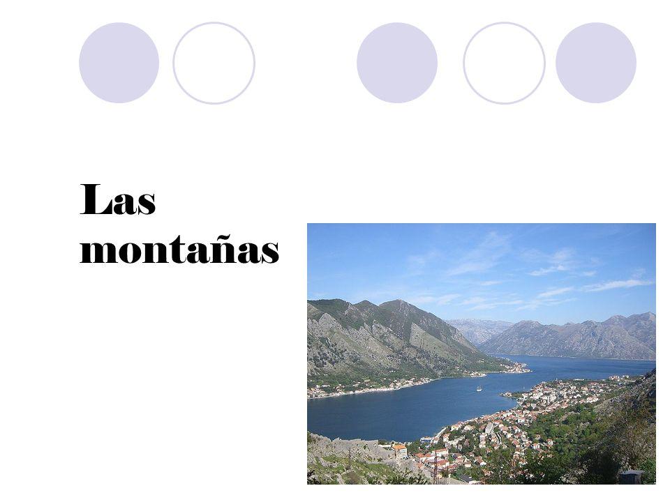 Las montañas