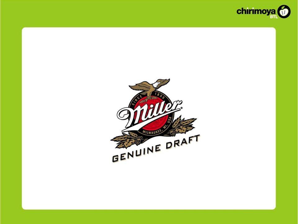 ANTECEDENTES Marca Miller es una cerveza de origen estadounidense que ingresa al mercado peruano en julio del 2010.