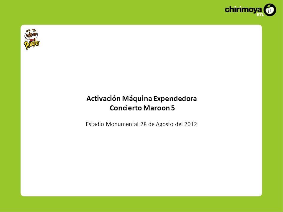 Descripción La activación se realizó el Martes 28 de Agosto del 2012 Inicio: 05:00 p.m.