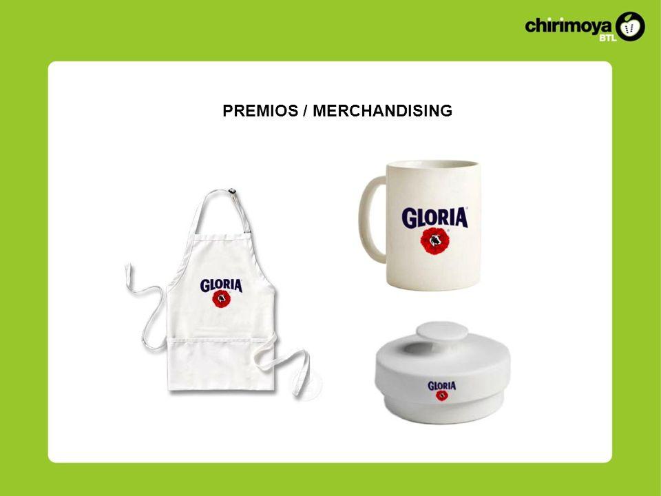 PREMIOS / MERCHANDISING