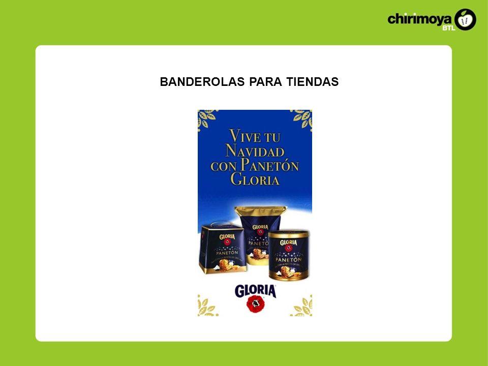 BANDEROLAS PARA TIENDAS