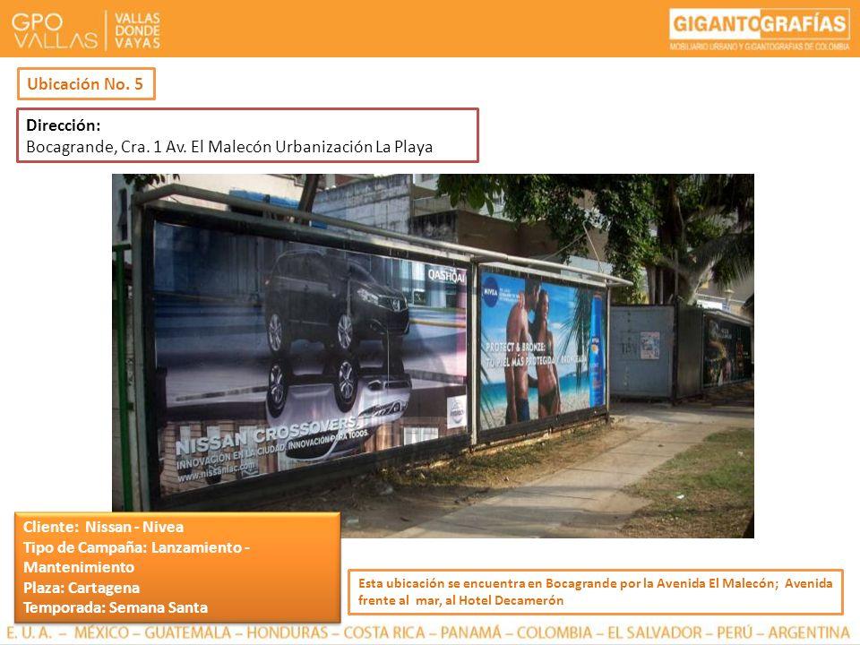 Dirección: Bocagrande, Cra. 1 Av. El Malecón Urbanización La Playa Esta ubicación se encuentra en Bocagrande por la Avenida El Malecón; Avenida frente