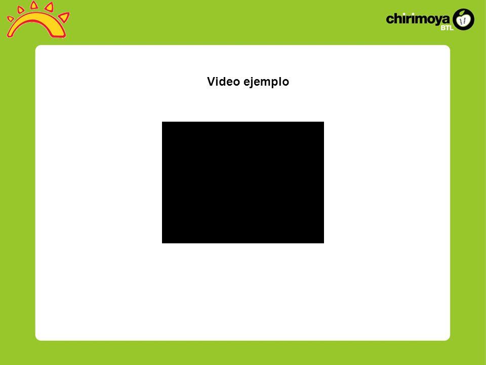 Video ejemplo