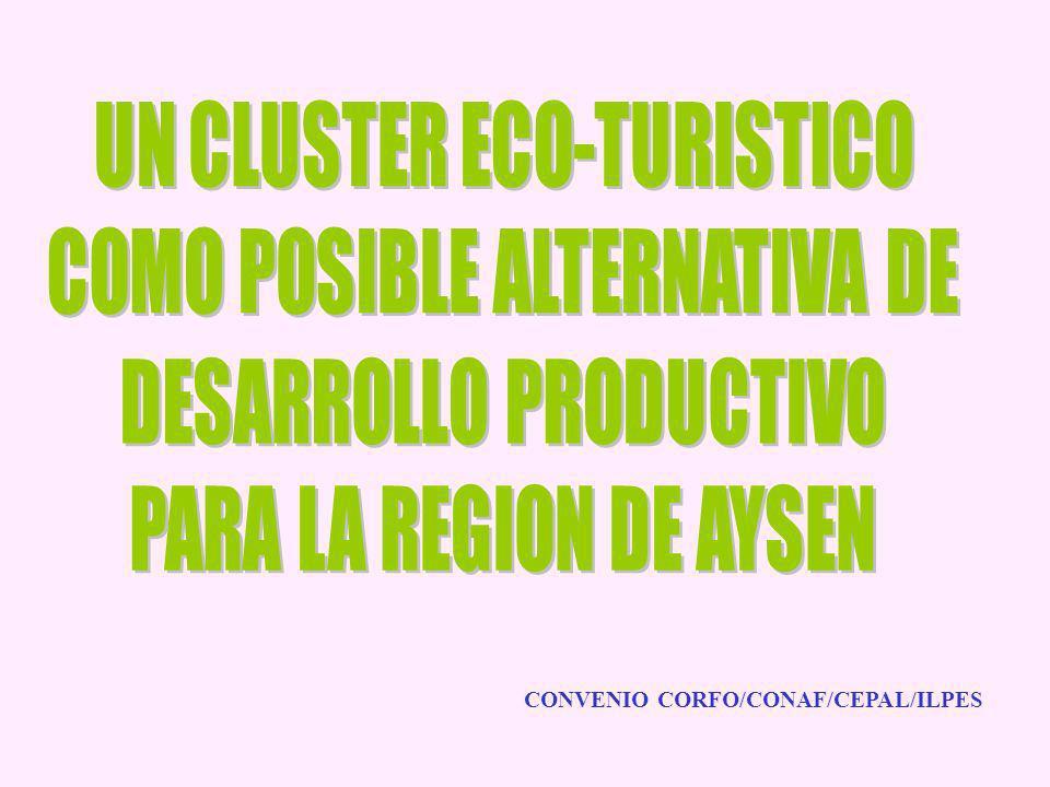 CONVENIO CORFO/CONAF/CEPAL/ILPES