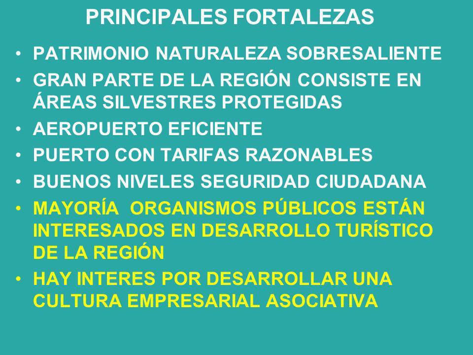 DATOS CUALITATIVOS DE LAS EMPRESAS CLIENTES: BUSCAN NATURALEZA, AVENTURA, TRANQUILIDAD, BUENA COMIDA, PESCA CON MOSCA, CABALGATAS Y COMODIDAD CANALES