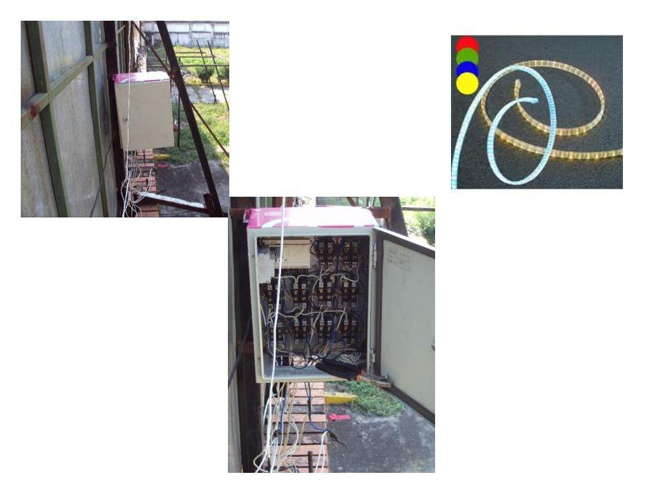 Innovación Delicia secuencia Iluminación La innovación para Delicia es una secuencia de luz de leds con panel de control.