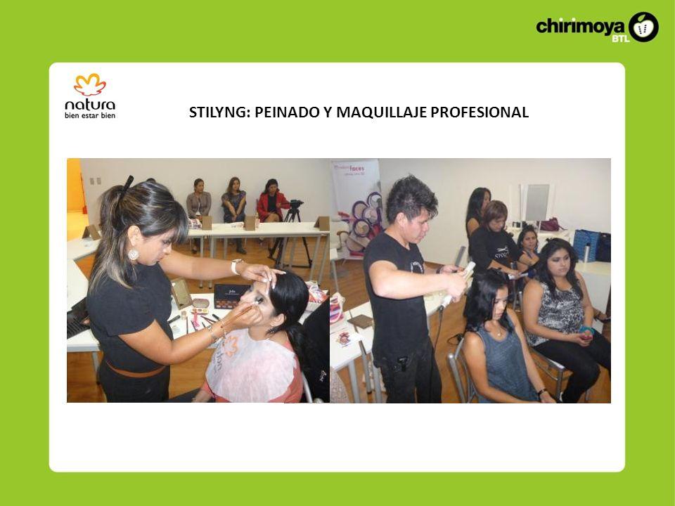 STILYNG: PEINADO Y MAQUILLAJE PROFESIONAL