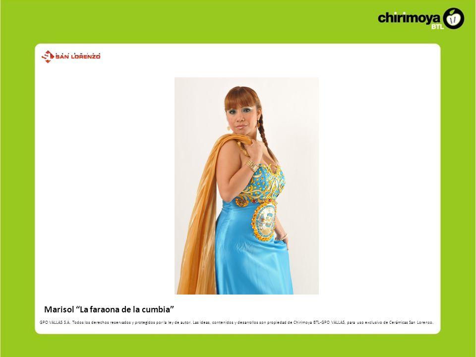 Marisol La faraona de la cumbia
