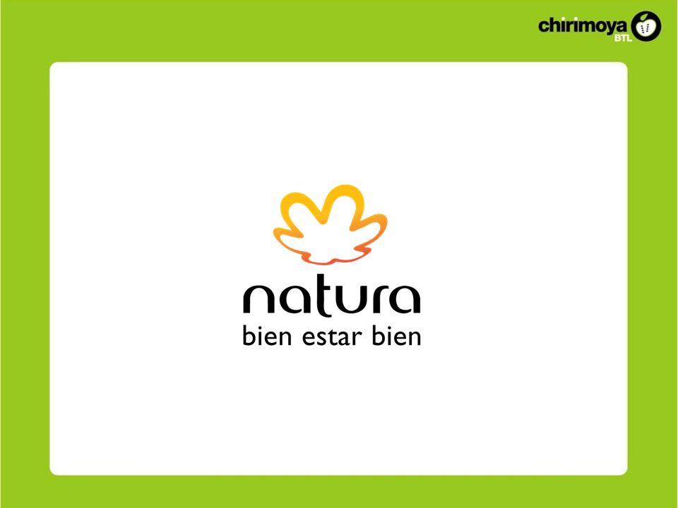 Antecedentes Natura nos pide realizar una activación para hacer que las mujeres prueben la línea Chronos de Natura (mejorada).