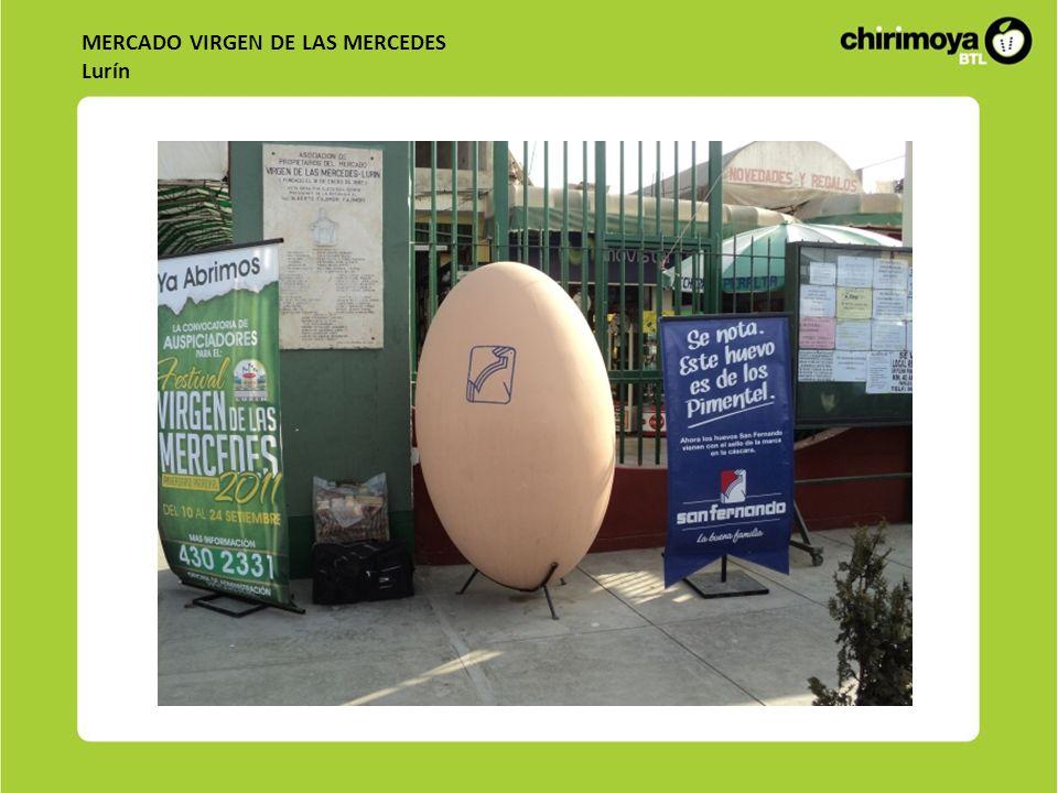 MERCADO VIRGEN DE LAS MERCEDES Lurín