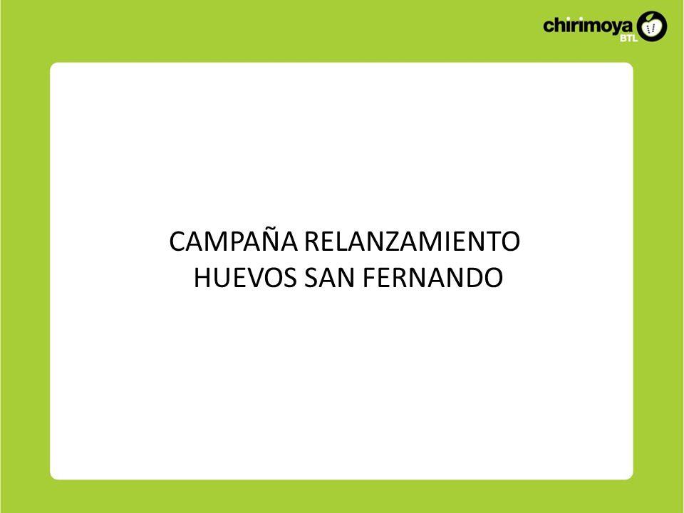 CAMPAÑA RELANZAMIENTO HUEVOS SAN FERNANDO
