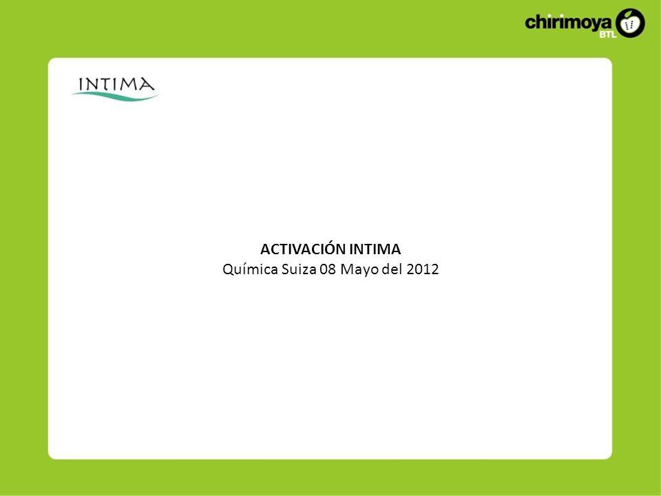Descripción La activación se realizó el Martes 08 de Mayo del 2012 Inicio: 07 a.m.