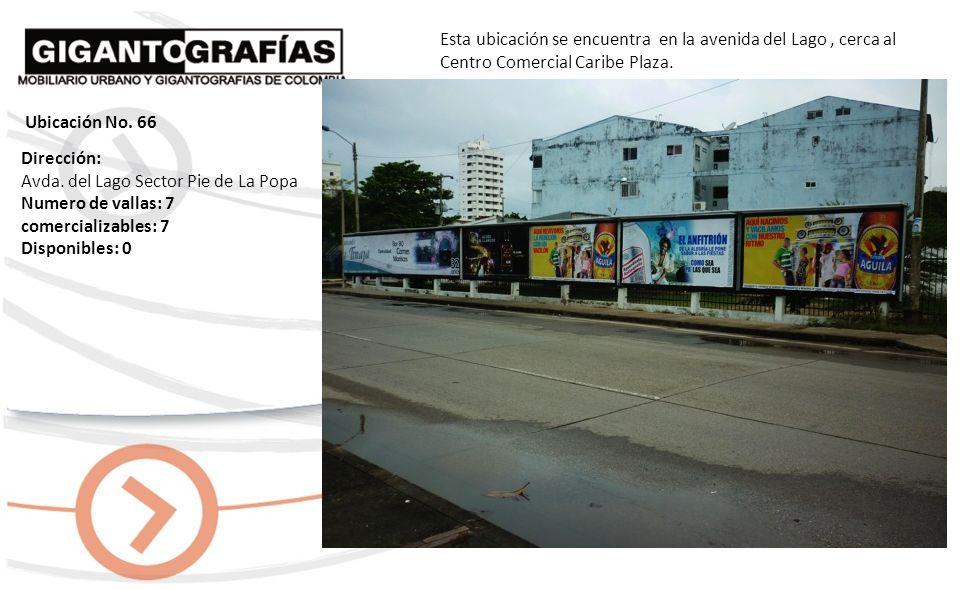 Dirección: El Cabrero Avda. Santander Cra. 2 Numero de vallas: 6 comercializables: 6 Disponibles: 4 Esta ubicación se encuentra en la Avenida Santande