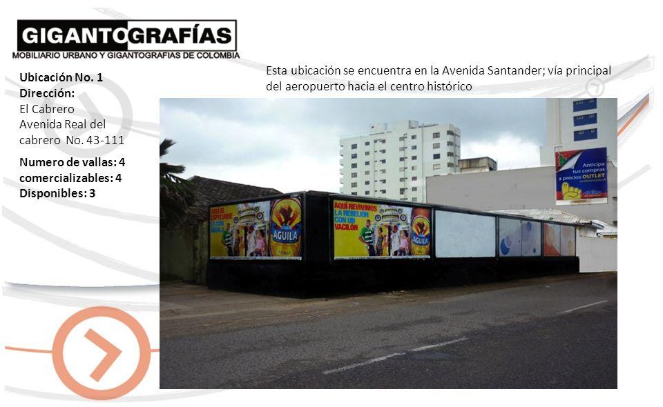 Dirección: El Cabrero Avda.Santander Cra.