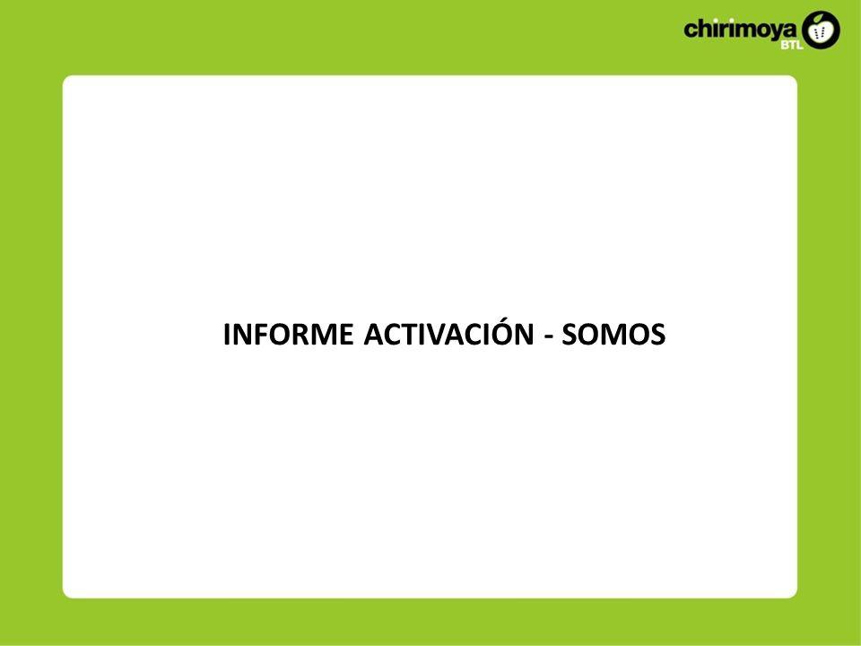 INFORME ACTIVACIÓN - SOMOS