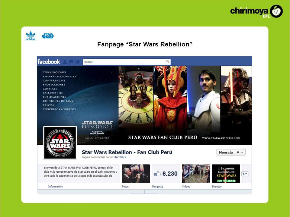 Contexto Fanpage Star Wars Rebellion