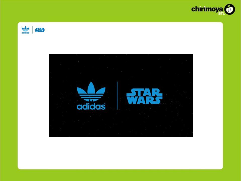 Solución Reforzar la integración de las marcas: Adidas + Star Wars