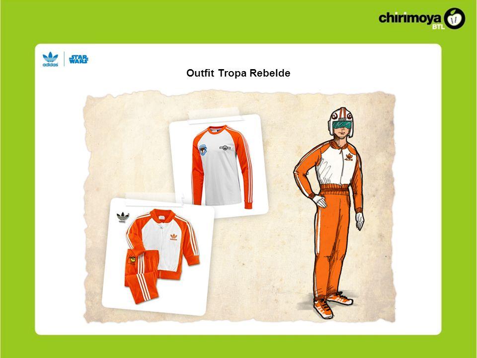 Outfit Tropa Rebelde