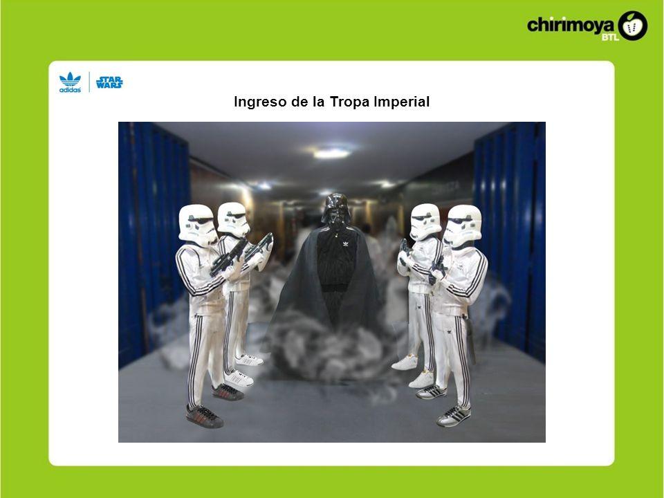 Ingreso de la Tropa Imperial