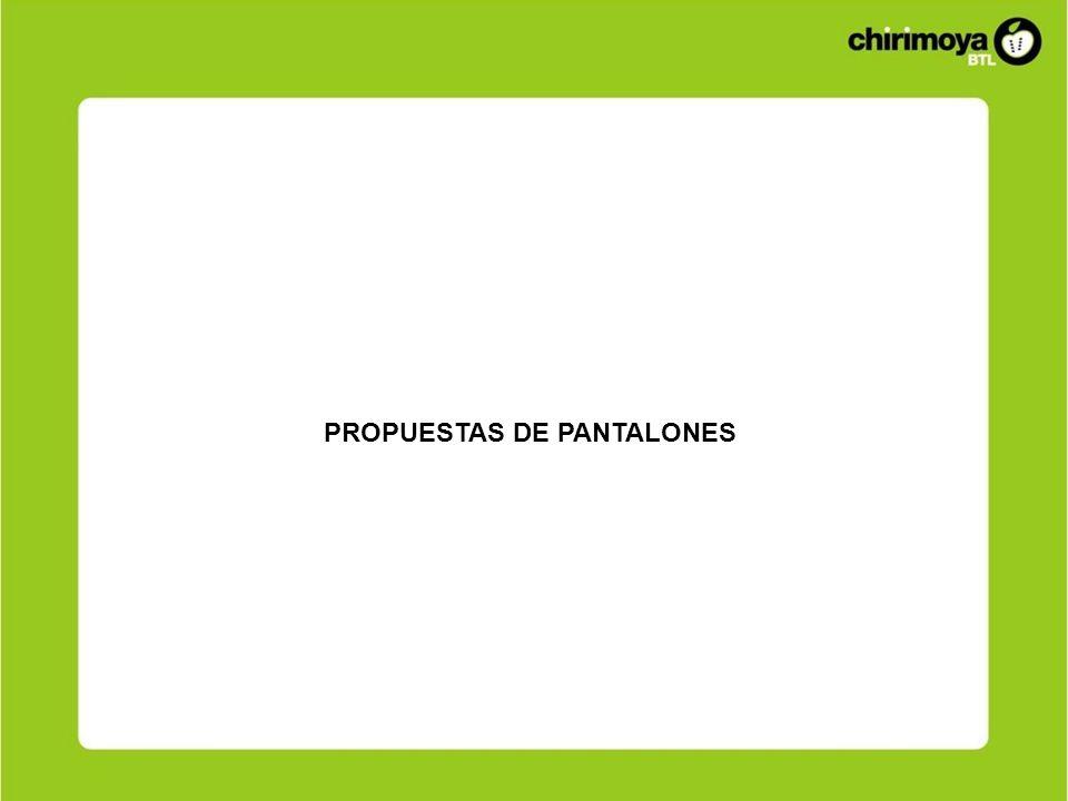 PROPUESTAS DE PANTALONES