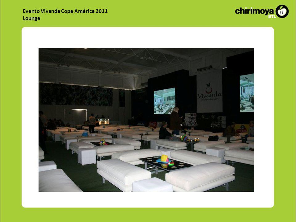 Evento Vivanda Copa América 2011 Lounge