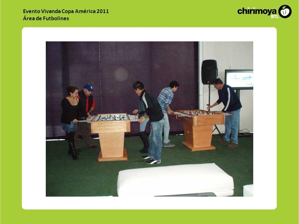 Evento Vivanda Copa América 2011 Área de Futbolines
