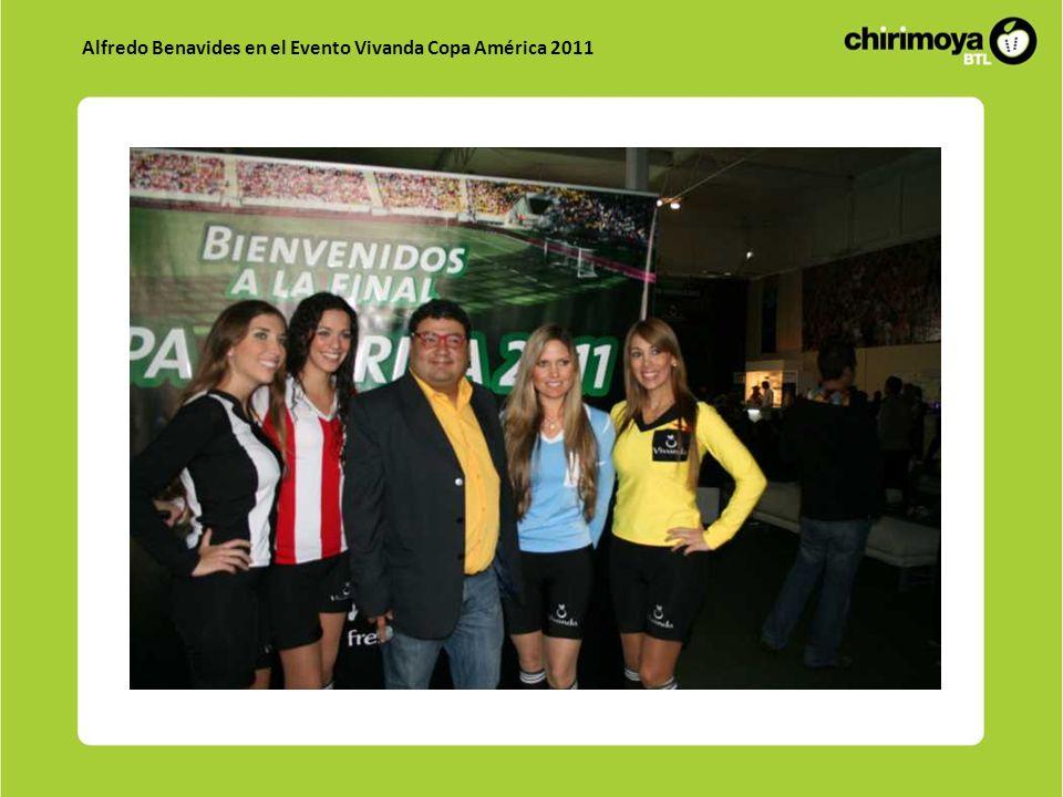 Alfredo Benavides en el Evento Vivanda Copa América 2011