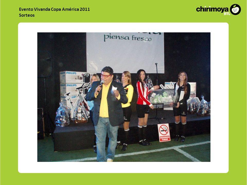 Evento Vivanda Copa América 2011 Sorteos