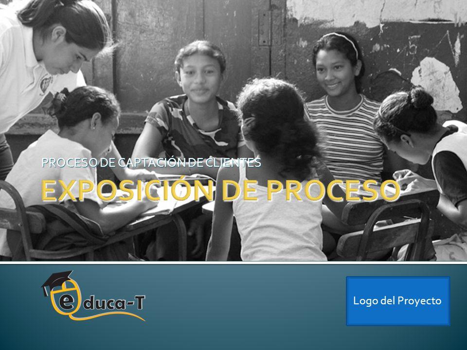 PROCESO DE CAPTACIÓN DE CLIENTES Logo del Proyecto