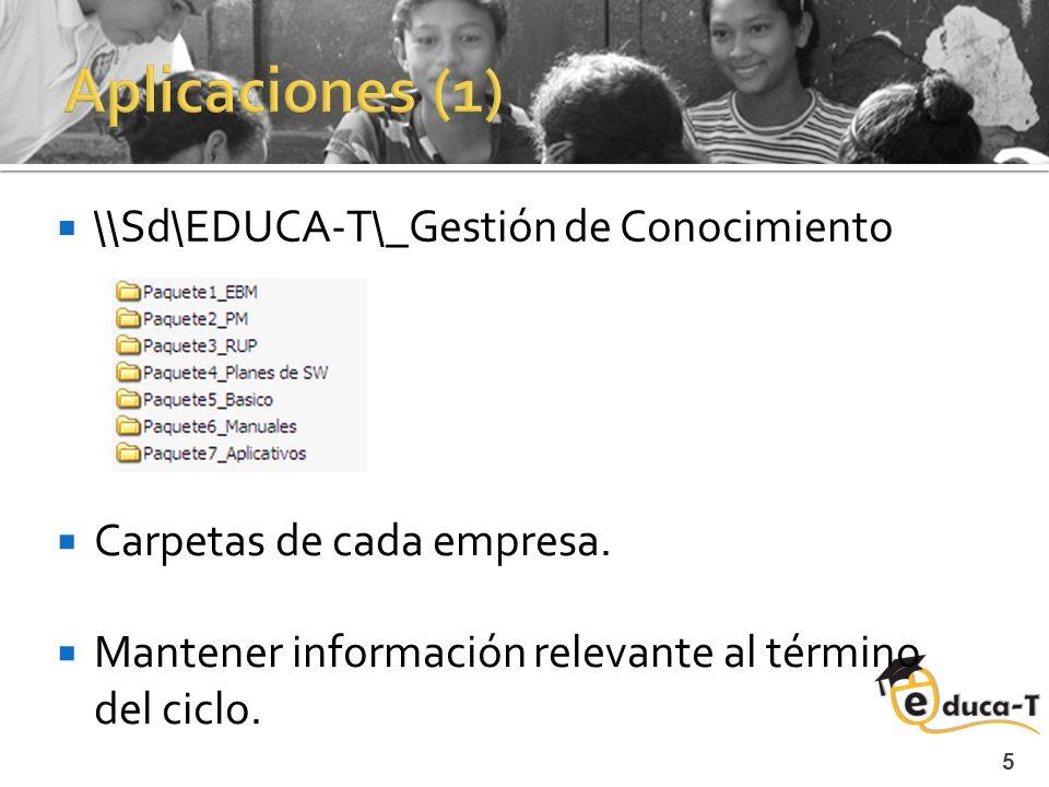 5 \\Sd\EDUCA-T\_Gestión de Conocimiento Carpetas de cada empresa.