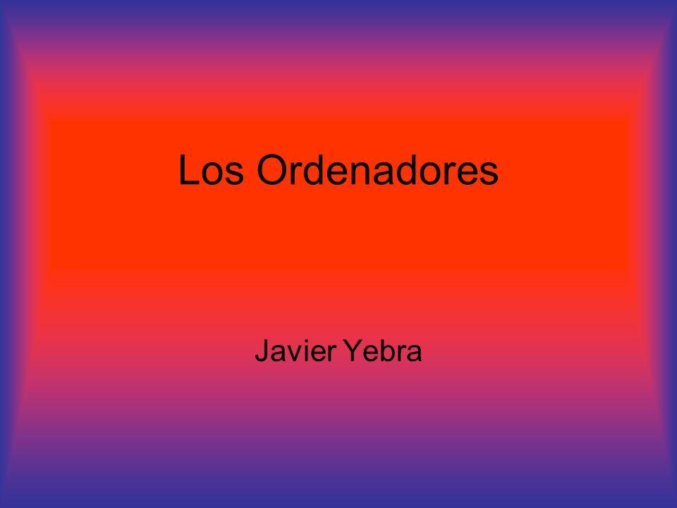Los Ordenadores Javier Yebra