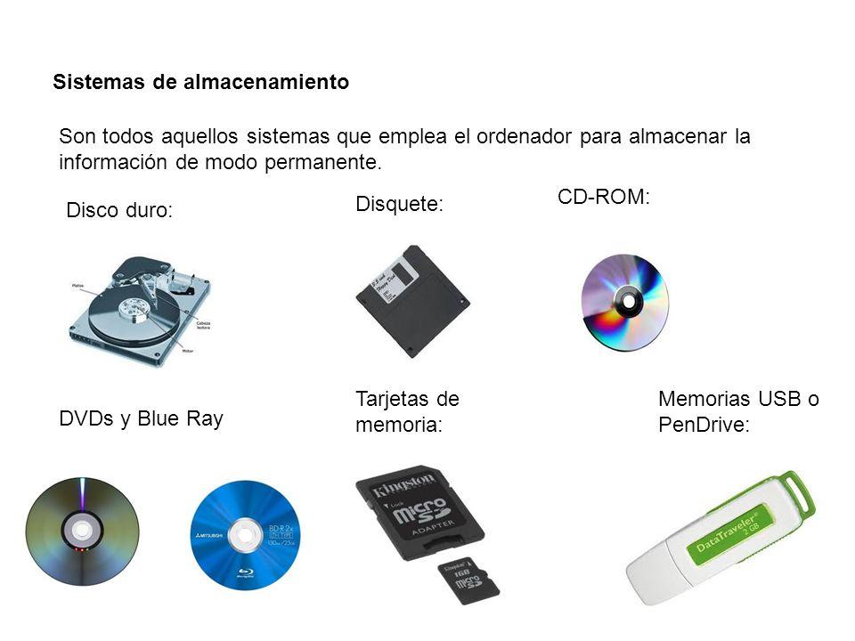 Periféricos o dispositivos de entrada: Los componentes que permiten introducir información en el ordenador se llaman dispositivos de entrada.