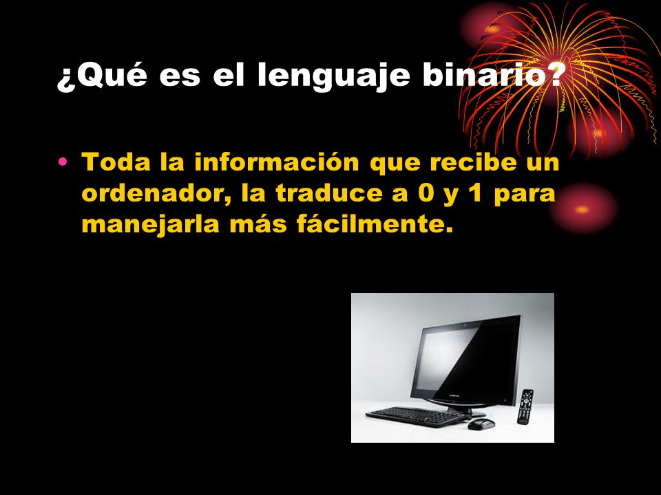 ¿Qué es el lenguaje binario.
