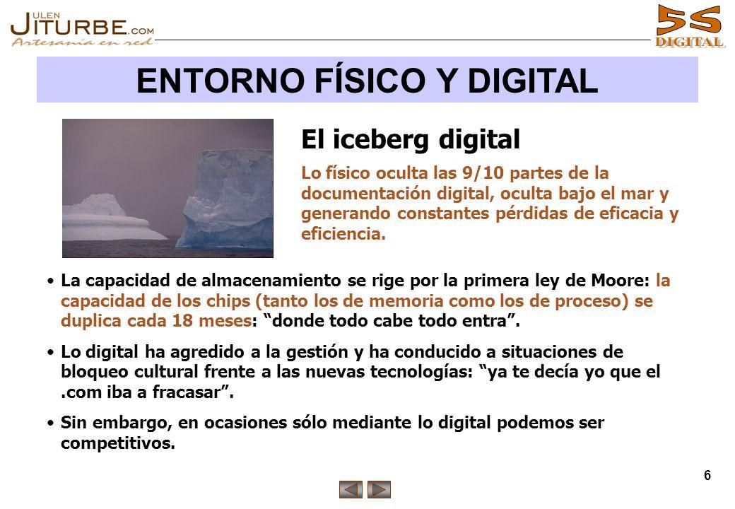 17 5.EL PROYECTO 5S DIGITAL Balance del proyecto implantado.