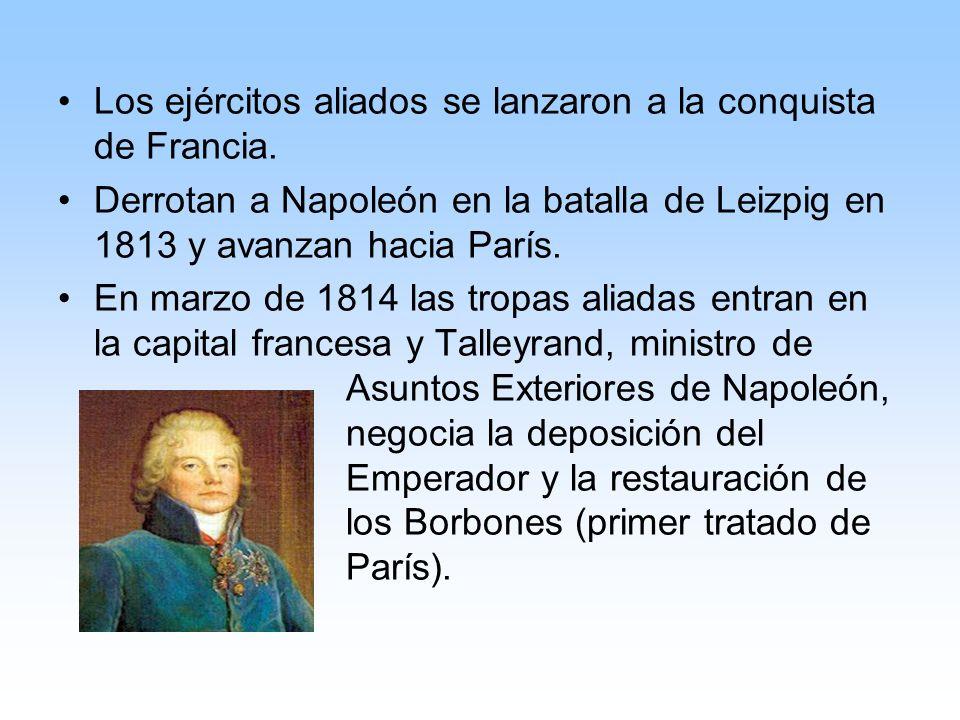 Los ejércitos aliados se lanzaron a la conquista de Francia.
