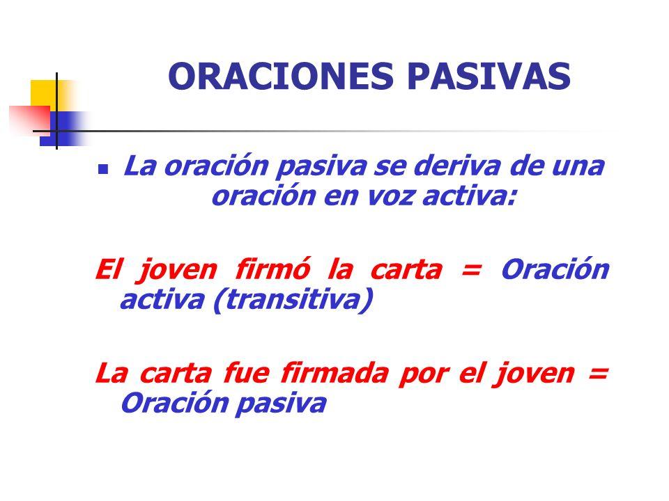 IMPERSONALES IMPROPIAS O GRAMATICALES Con los verbos: HABER, SER y HACER.