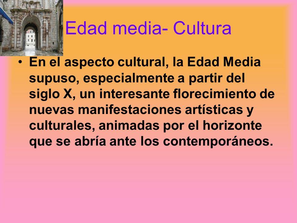 Edad Media-Cultura La mejor manera de entender la sociedad feudal es visualizándola como una pirámide.