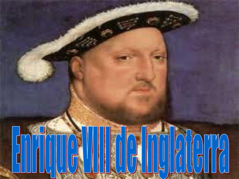 -BIOGRAFÍA: · Nacimiento: 28 de junio de 1491- Greenwich.