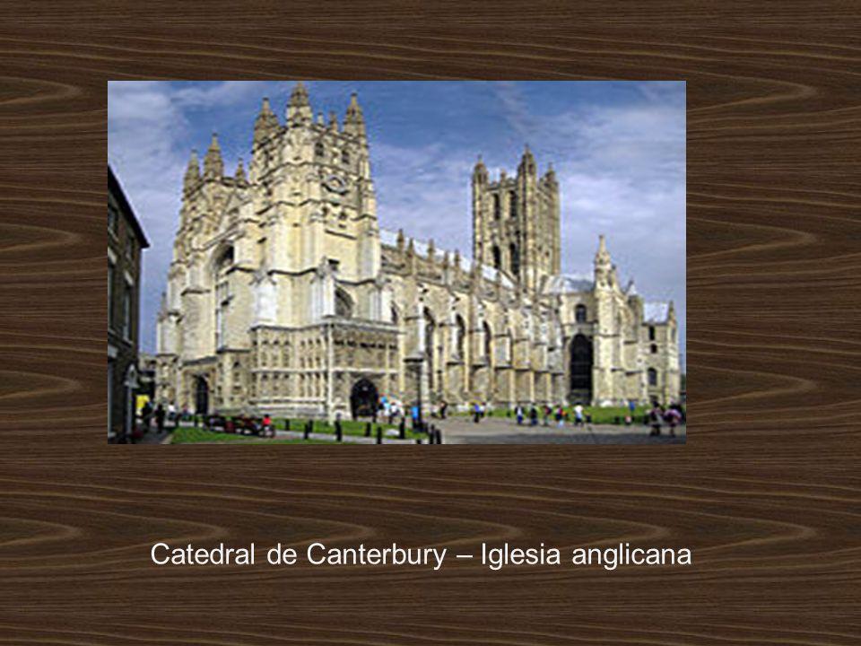 Catedral de Canterbury – Iglesia anglicana