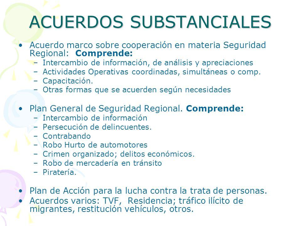 Organización Grupos de Trabajo de la RMI GTE Informática y Comunicacione s GTE Tráfico Ilícito de Mat.